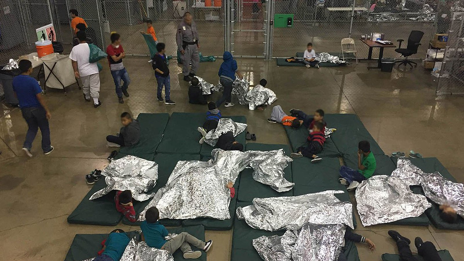 Issue: Immigration, Child Detention